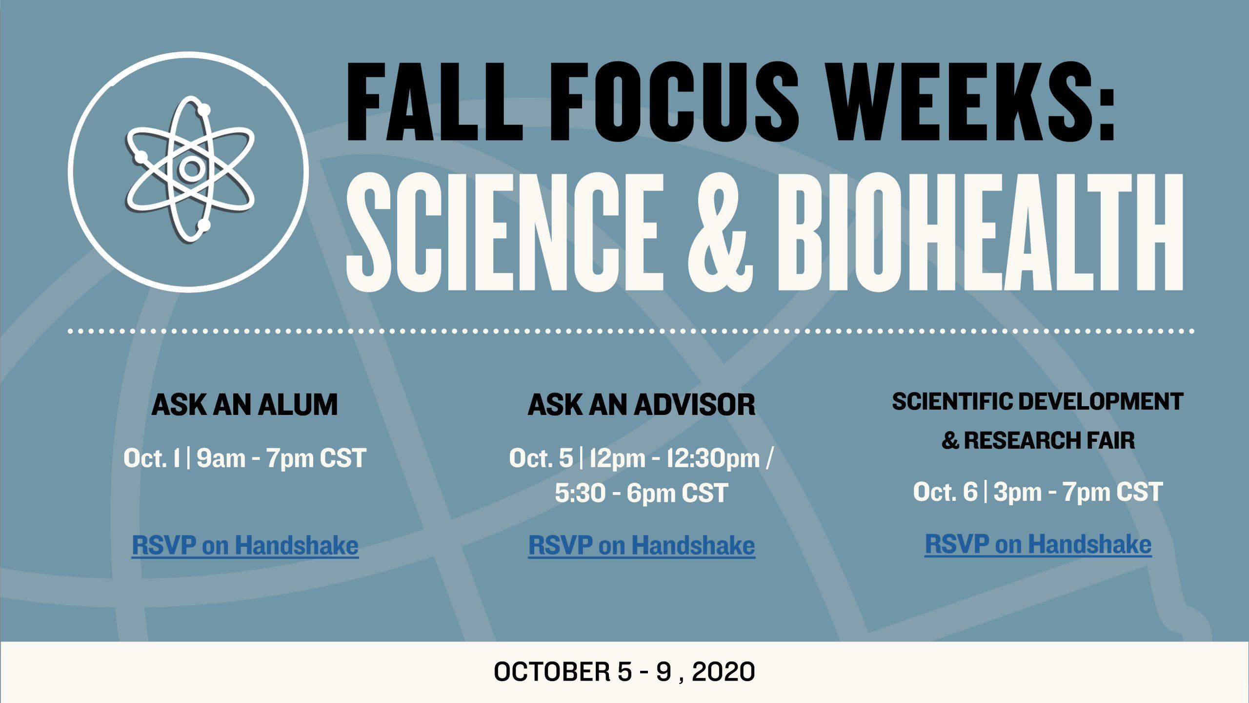 Science & BioHealth Week