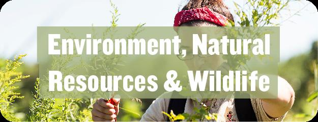Environment, Natural Resources & Wildlife